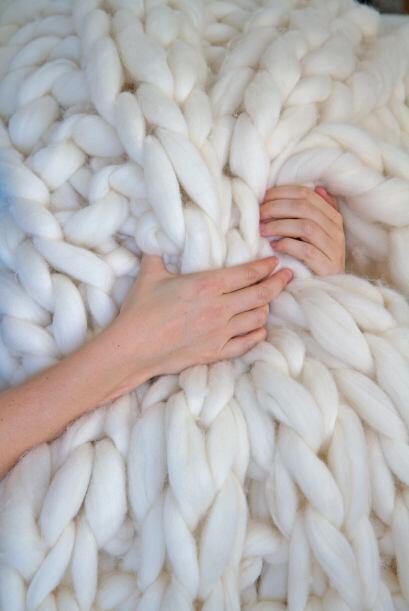 Un tejido así debe ser muy cómodo y apapachable para todo el cuerpo.