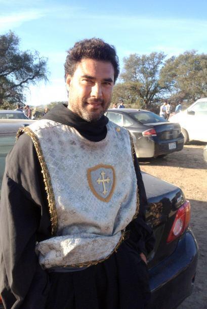 """Eduardo Yáñez está muy feliz de poder participar en la serie """"Don Quixot..."""