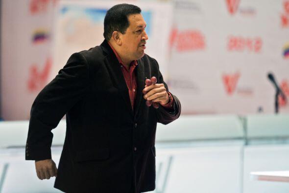 El cadáver del presidente venezolano Hugo Chávez va a ser...