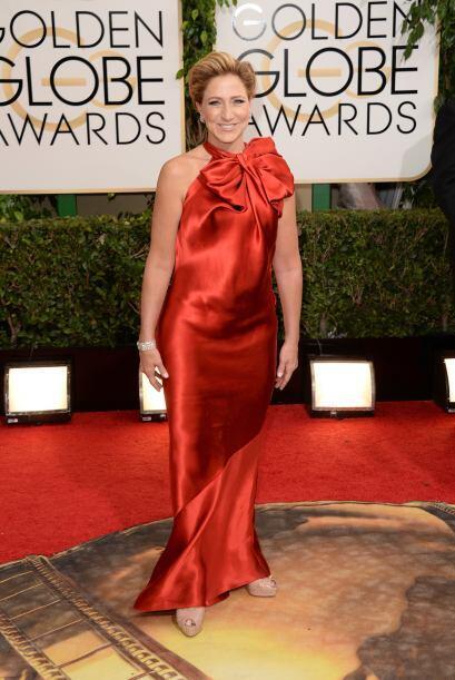 El vestido de Edie Falco hubiera estado genial para usarlo en una fiesta...