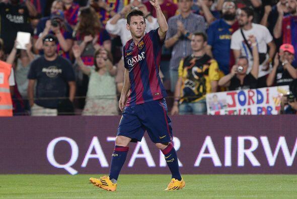 """La """"Pulga"""" está a dos goles de igualar el récord histórico de 251 tantos..."""