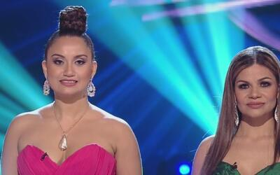 Beatriz y Lluvia piden al público otra oportunidad en 'La Reina de la Ca...