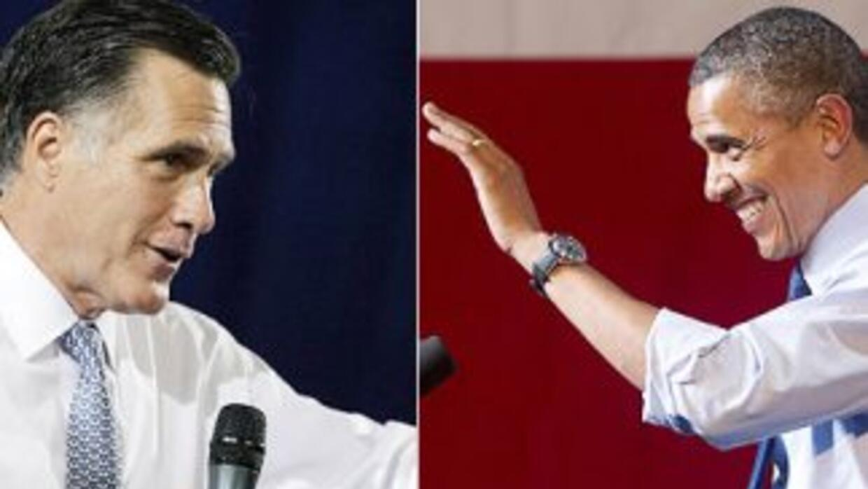 Las campañas de Mitt Romney y Barack Obama en cerrado duelo por la conqu...