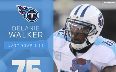 #75: Delanie Walker (TE, Titans) | Top 100 jugadores 2017
