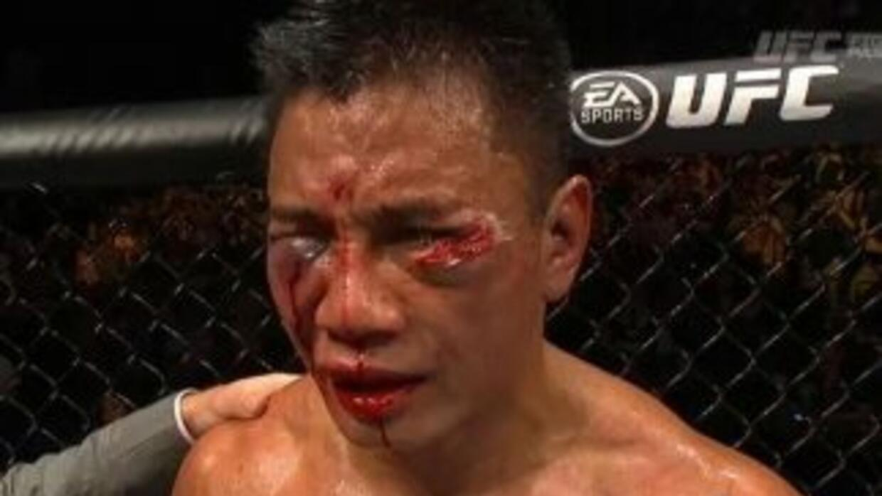 Michael Bisping destruyó a Cung Le (Foto: Twitter).