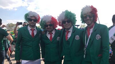 En fotos: los mexicanos conquistaron Moscú en apoyo al 'Tri' contra Alemania en Rusia 2018