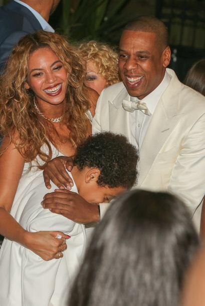 Los Carter estuvieron felices de la vida en la boda. Parece que quedó ya...