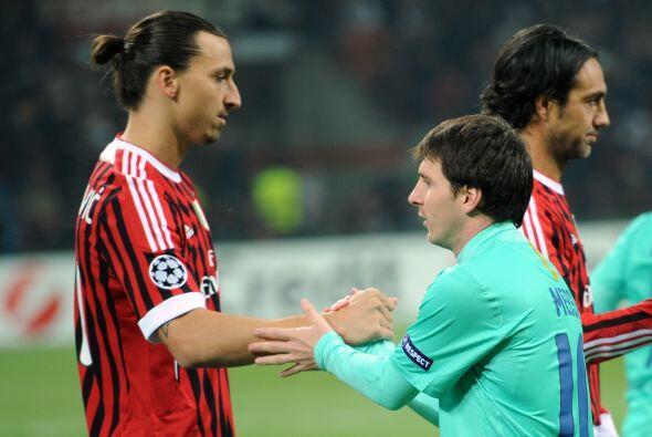 Llegó el segundo capítulo del duelo Barcelona-Milan en la fase de grupos...