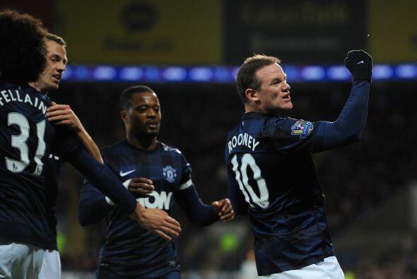 El gol de uno de los líderes del United era valioso, pues el equi...