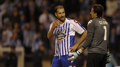 Lopo anotó el gol del empate del Dépor