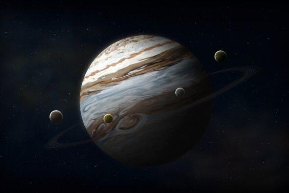 Cuatro de esas grandes lunas de Júpiter se conocen desde hace más de 405...