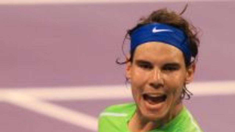 Rafael Nadal venció a Youzhny en los cuartos de final del torne de Doha.