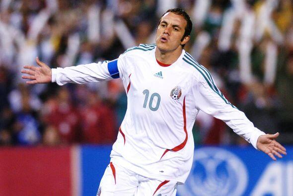 """En ese momento, """"El Cuauh"""" ya había jugado los Mundiales de 1998 y 2002."""