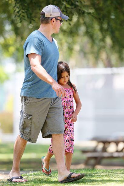 A Matt Damon le interesa que sus pequeñas se ejerciten, es por esto que...