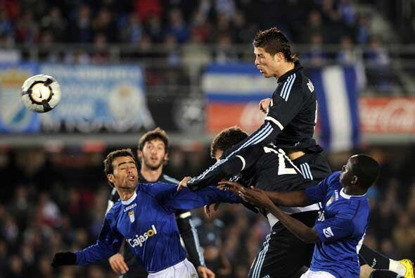 El Real Madrid, con el regreso de Cristiano Ronaldo, visitó al colista d...