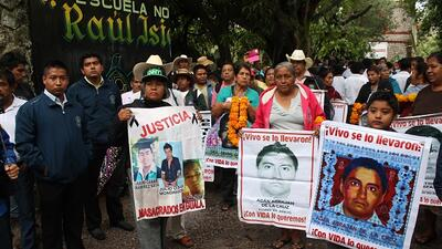 México relanzará la investigación sobre los 43 estudiantes desaparecidos...