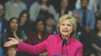 Hillary Clinton: No, Donald Trump. No vamos a prohibirles la entrada a l...
