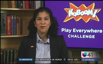 Kaboom!, una organización que promueve el juego en los niños