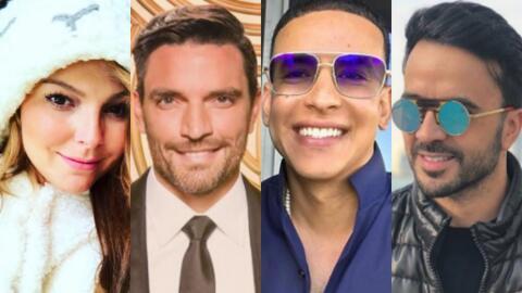 Marjorie de Sousa, Julián Gil, Daddy Yankee, Luis Fonsi