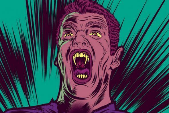 ¡Es un vampiro! Mira aquí los videos más chismosos.