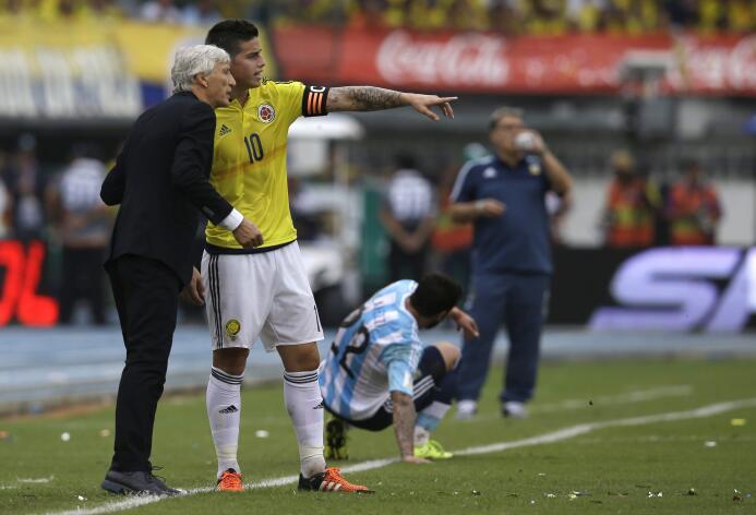 Colombia, el refugio de un James olvidado por el Real Madrid AP_68934581...