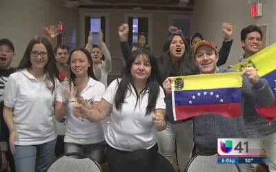 Venezolanos en NY pendientes a elección