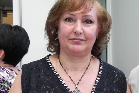 Maria Rosa Becerra, de Argentina, dijo estar muy feliz en poder aportar...
