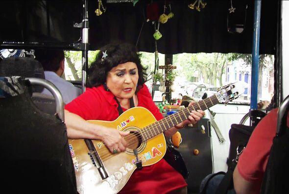 ¿Qué hace cantando en los camiones Yolandita? ¿Cómo fue a parar ahí?
