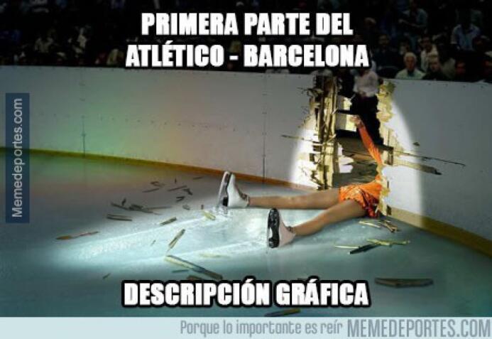 Memes de la caída del Barça ante Atlético