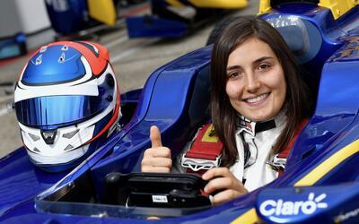 Tatiana Calderón, la nueva piloto de pruebas de Alfa Romeo Sauber.