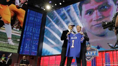 Revive los primeros 10 picks del NFL Draft 2018