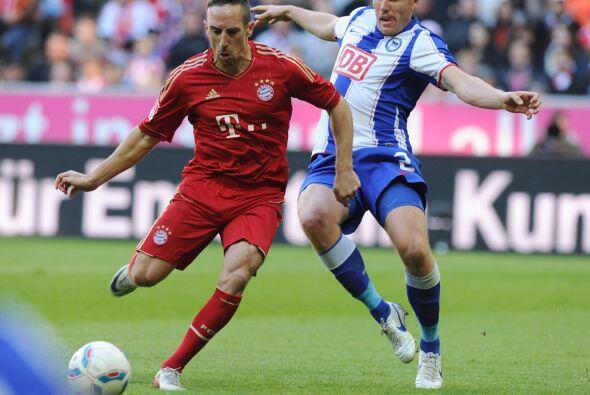 'Scarface' fue el motor del Bayern Munich ante el Herta Berlín.