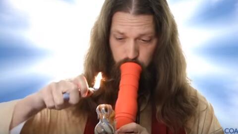 Imagen tomada de un anuncio de la 'Iglesia del Valle de Coachella' que o...