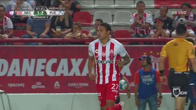 El 'Gullit' Peña entró de cambio y debutó en el Apertura 2018