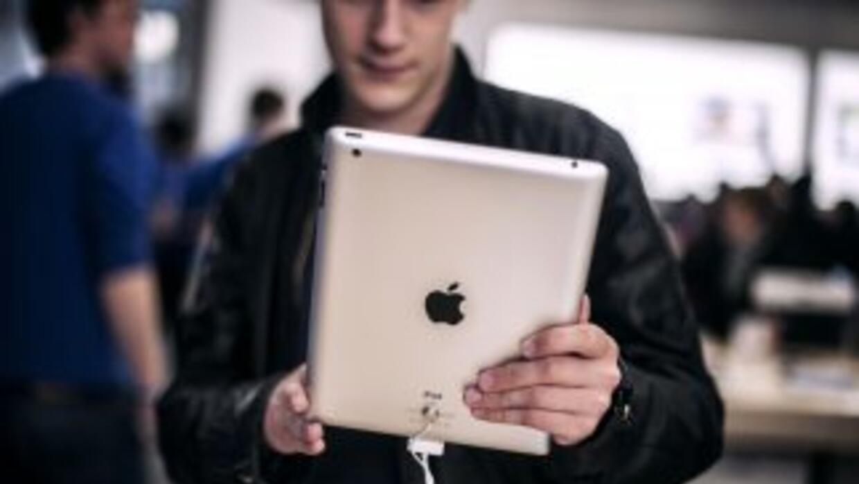 Apple vendió11.8 millones de iPad en el trimestre.