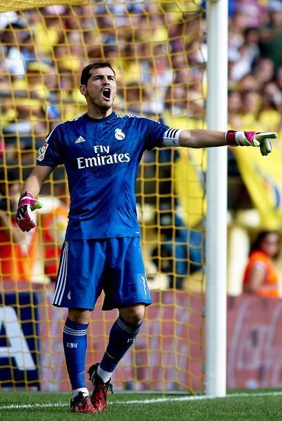 Casillas volvió a la portería del Madrid y fue importante...