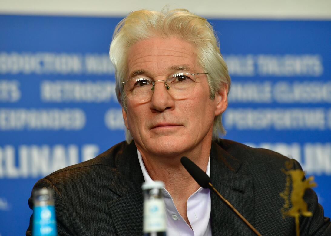 Richard presentando 'The Dinner' en la Berlinale, el 10 de febre...