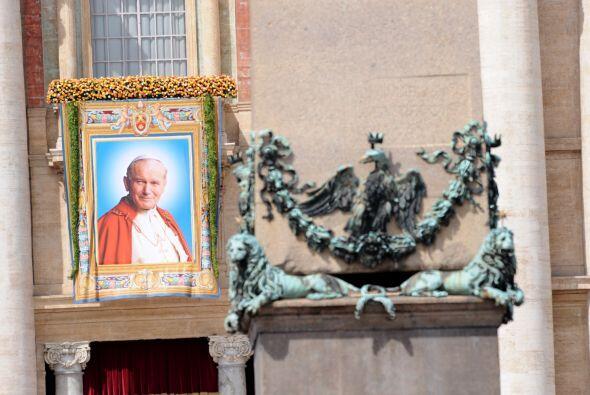 Fue la beatificación más rápida de que se tenga conocimiento, apenas sei...