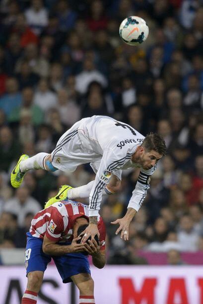 Con el marcador en contra el MAdrid fue perdiendo la paciencia.