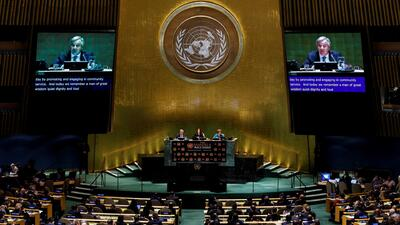 Líderes mundiales se comprometen a luchar contra las drogas y defender los derechos humanos