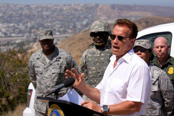 Los guardias nacionales californianos serán desplegados únicamente en la...