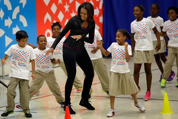 La iniciativa liderada por la primera dama, Michelle Obama, Let's Move!,...