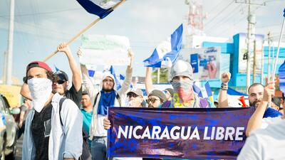 In photos: the banners and symbols of Nicaragua's protesters