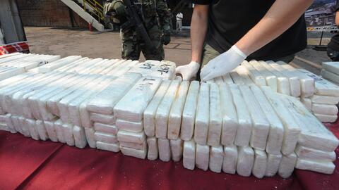 Autoridades de Texas decomisaron un cargamento con más de 300 lib...