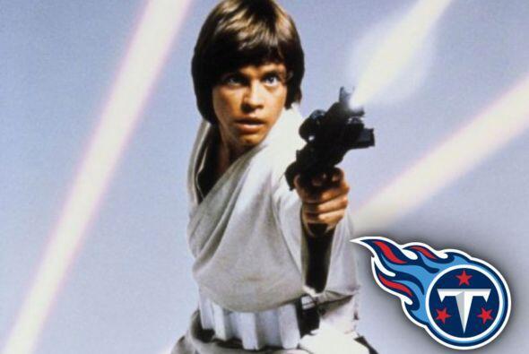 Pick 2. Tennessee Titans -- Luke Skywalker.
