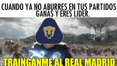 Memelogía | Pumas no se salva de las burlas ni estando en la cima del Apertura 2018