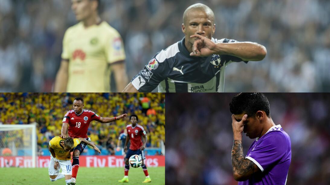James Rodríguez y otros futbolistas que han sido amenazados de muerte Ge...