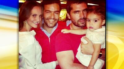 Pablo Montero retomó la sonrisa junto a su familia y Eduardo Verástegui
