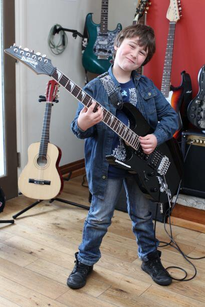 La primera vez que Alexander Santarpia tocó un instrumento fue cuando te...