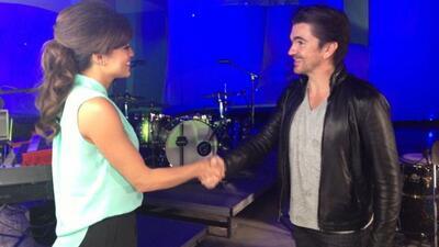 Pamela Silva Conde se anotó tremenda exclusiva con Juanes. No se pierda...
